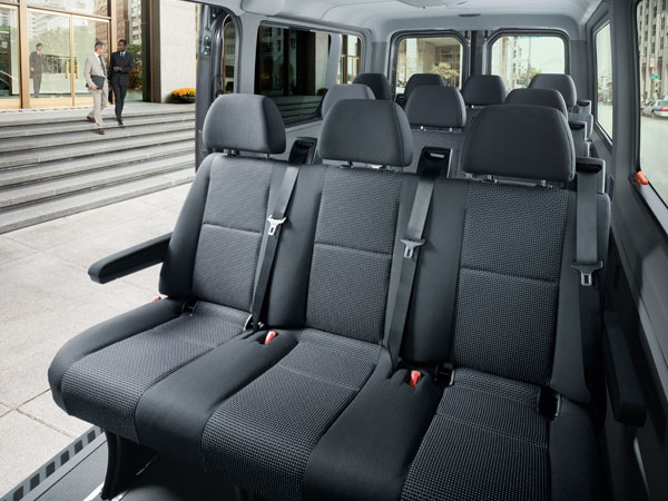 Mercedes sprinter king limousine service toronto for Mercedes sprinter van interior